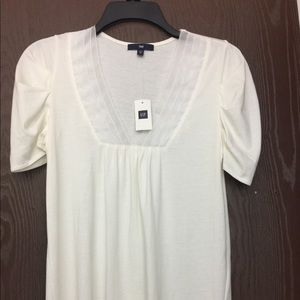 Gap White Cotton Blouse